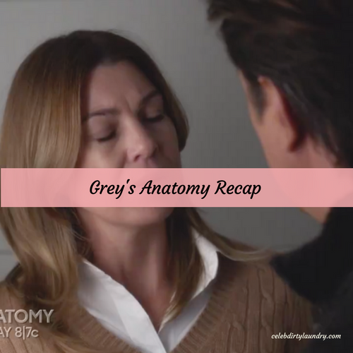 "Grey's Anatomy Recap 4/13/17: Season 13 Episode 20 ""In the Air Tonight"""