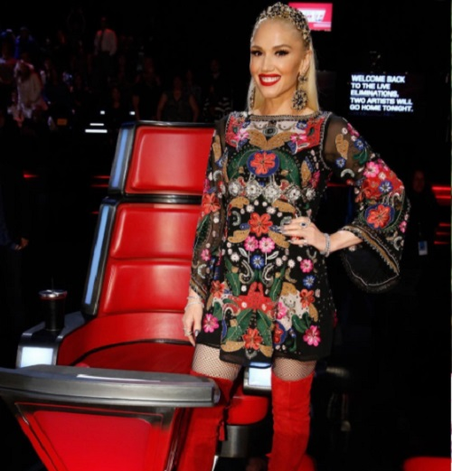 Gwen Stefani Won't Give Blake Shelton Any Room To Breathe