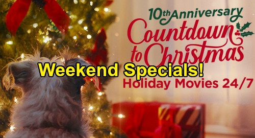 Hallmark Channel News: Three Christmas Movie Premieres This Weekend, November 16-17 - Plot Reviews & When To Watch