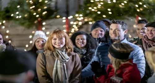 Hallmark Channel News: Alicia Witt & Brendan Hines Star In 'Our Christmas Love Song'