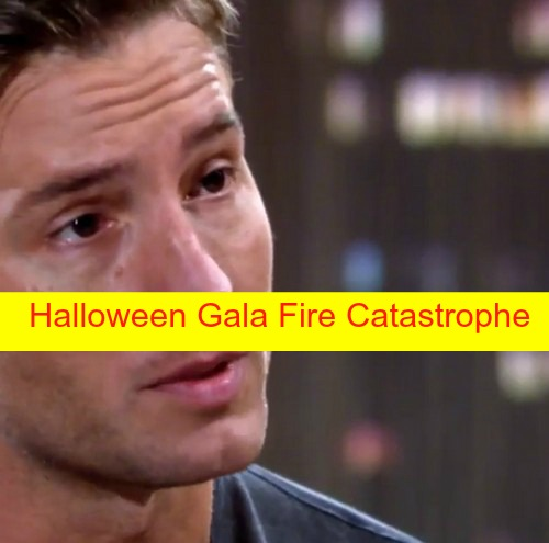 The Young and the Restless (Y&R) Spoilers: Halloween Gala – Killing Fire Spreads, Will Adam Save the Day or Go Down in Flames?
