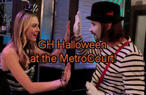 'General Hospital' Spoilers: Halloween Horror at MetroCourt Party - Franco and Jason Face Off as Sonny Spirals Out
