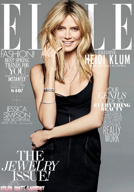 Heidi Klum Opens To Elle Magazine