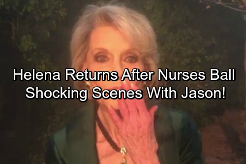 General Hospital Spoilers: Helena Cassadine Returns This Week – Shocking Scenes With Jason After Nurses' Ball