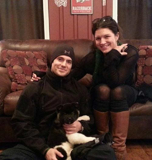 Gina carano henry cavill interview about dating