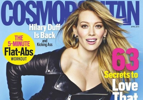 Hilary Duff Bitter About Divorce and Mike Comrie Cheating: Blasts Monogamy in Cosmo - Doesn't Think Marriage Will Last