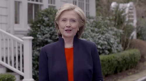 Hillary Clinton Announces Run for United States President 2016 on Video