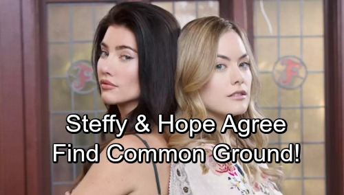 The Bold and the Beautiful Spoilers: Steffy and Hope Find Surprising Common Ground – Peaceful Moment Is Calm Before the Storm