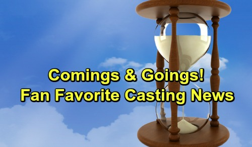 Days of Our Lives Spoilers: Casting News – Comings and Goings – Fan Favorites, New Faces and Hot Hints