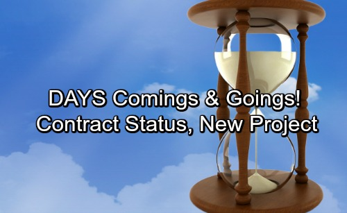 Days of Our Lives Spoilers: Casting News – Comings and Goings – Contract Status Updates, Fun Project for DOOL Star