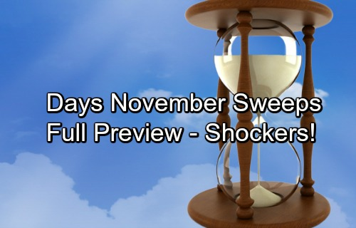 Days of Our Lives Spoilers: November Sweeps Preview – Sudden Danger, Blooming Love and Shocking Discoveries