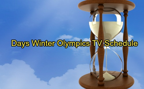 Days of Our Lives Spoilers: Will the Winter Olympics Affect DOOL's Schedule and Air Times?