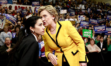 Anthony Weiner's Wife Huma Abedin and Hillary Clinton Vacation Plan To Discuss Sex Scandal?