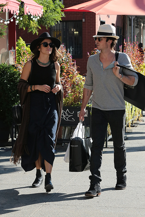 Ian Somerhalder and Nikki Reed Attempt to Save Ian's Career: The Vampire Diaries Star Gives Up TVD, Begins to Distance Himself