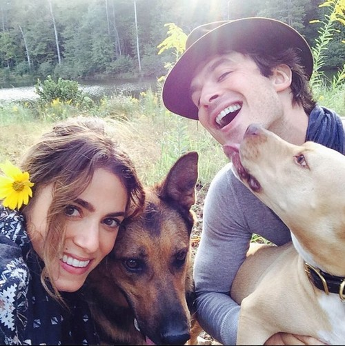 Ian Somerhalder Instagram Photo With Nikki Reed Disses Nina Dobrev - Will Elena Move to The Originals, Quit Vampire Diaries?