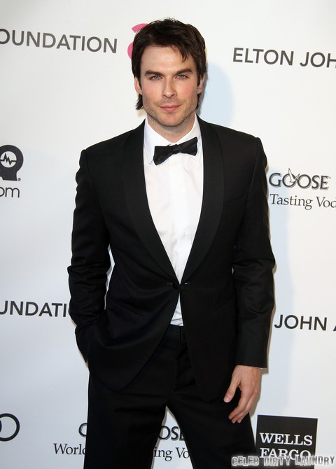 Fifty Shades Of Grey Movie Cast List Narrows: Ian Somerhalder Still In It!