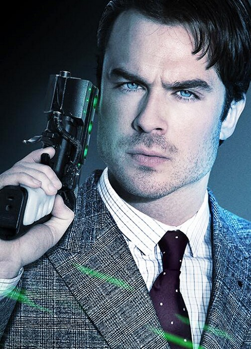 "Ian Somerhalder New SEXY Poster For Film ""The Anomaly"""