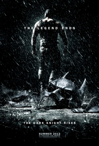 A New 'The Dark Knight Rises' Poster Depicts A Crushed Batman Mask (photo)!