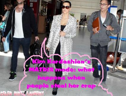 Kim Kardashian's Luggage Ransacked By British Airways Employees
