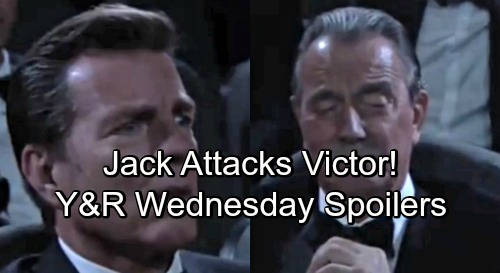 The Young and the Restless Spoilers: Wednesday, May 9 – Jack Attacks Victor – Dina's Brutal Health Setback – Charlie Under Fire