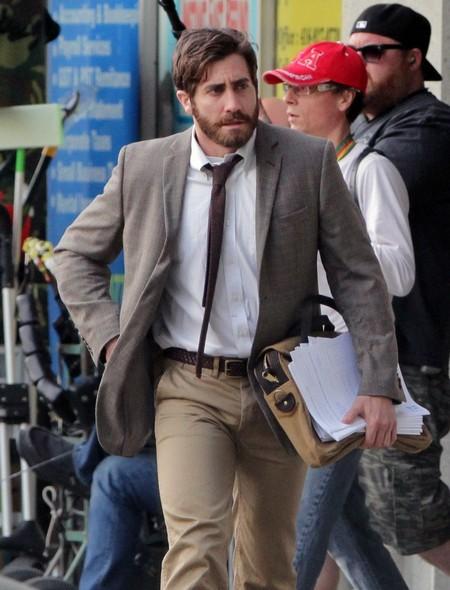 Jake Gyllenhaal Spotted Filming In Toronto