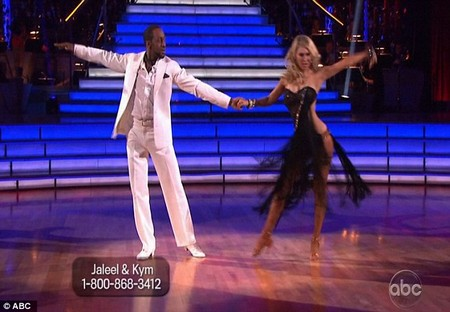 Jaleel White Dancing With The Stars Samba Performance Video 4/16/12