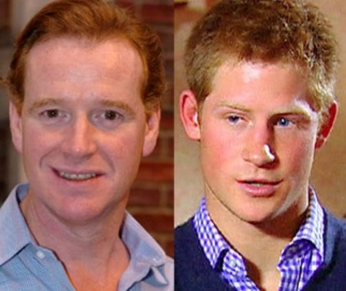 Prince Harry Paternity Scandal Princess Diana S Lover James Hewitt Met Di 18 Months Before