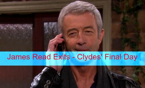 Days of Our Lives (DOOL) Spoilers: James Read's Final Airdate October 20 – Clyde Ends Up Dead or Goes On the Run?