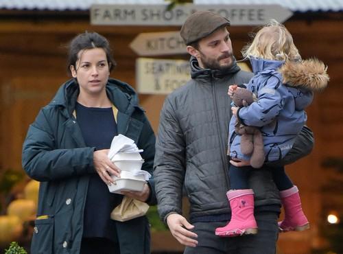 Jamie Dornan Amelia Warner Spark Pregnancy Buzz Third Baby On The Way For Y