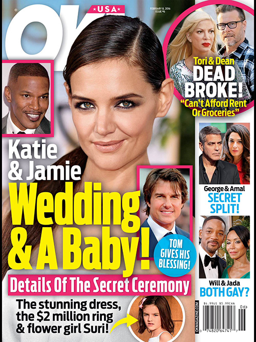 Katie Holmes and Jamie Foxx Wedding: Couple Expecting A Baby, Plan Secret Spring Ceremony?