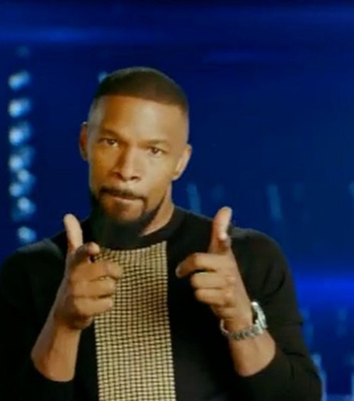 Jamie Foxx Will Not Admit He's Dating Katie Holmes