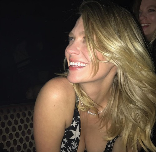 January Jones Goes Wild With Alcohol-Fueled Birthday Bash In Las Vegas