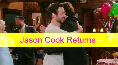 Days of Our Lives (DOOL) Spoilers: Jason Cook is Back as Shawn Douglas Brady – Suspicious of Aiden, Overjoyed by Bo's Return!