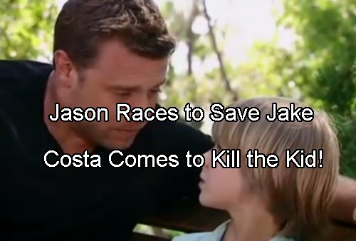 General Hospital Spoilers: Jason Races to Save Jake From Costa Death Threat on Helena's Orders