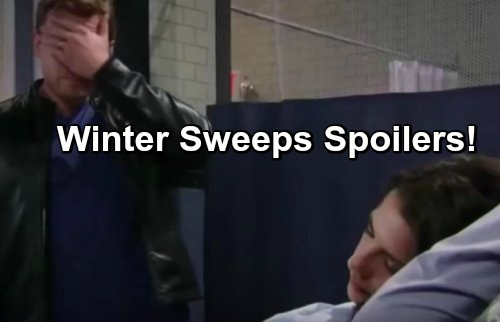 General Hospital Spoilers: Winter Sweeps First Look - Scout Born, Sam Struggles For Life After Botched Jason Hit