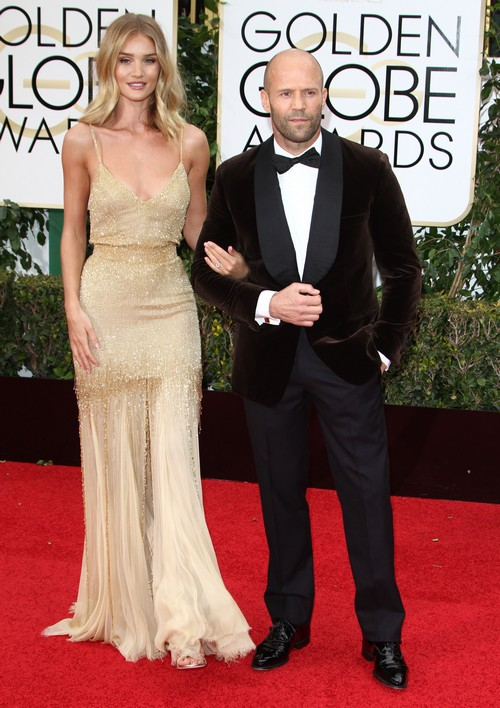 Rosie Huntington-Whiteley and Jason Statham Are Engaged and Pregnant?