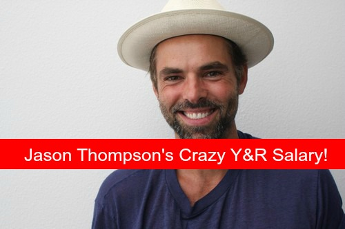 The Young and the Restless Spoilers: Jason Thompson's Super High Y&R Salary - Causes Controversy on Set?