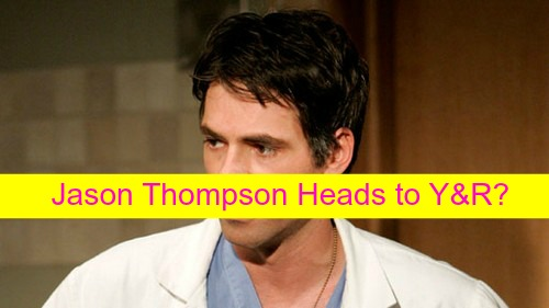 The Young and the Restless Spoilers: Jason Thompson Cast on Y&R After Quitting General Hospital as Dr. Patrick Drake?