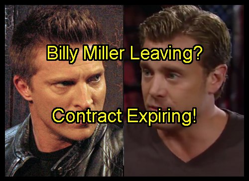 General Hospital Spoiler: Is Billy Miller Leaving GH - Contract Expires October - Replaced by Steve Burton as Jason Morgan?