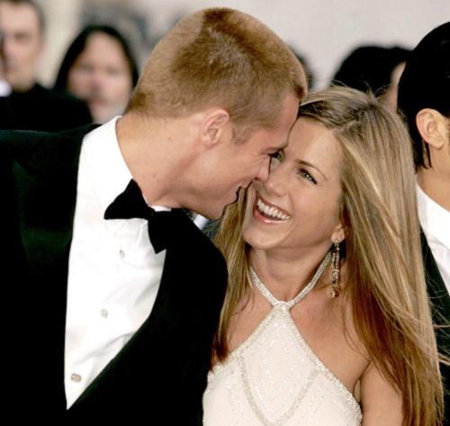 Jennifer Aniston Using Brad Pitt To Get Over Her Mom's Death?