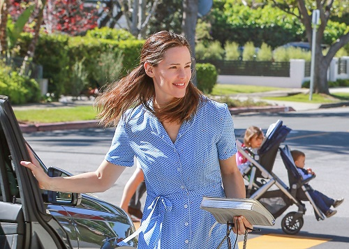 Jennifer Garner is pregnant and alone, according to the latest cover issue of OK! Magazine. The report alleges that Ben Affleck is back in touch with nanny Christine Ouzounian in the wake of his d