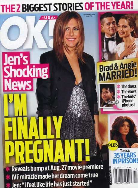 Jennifer Aniston Pregnant: IVF Pregnancy Baby Bump (PHOTOS)