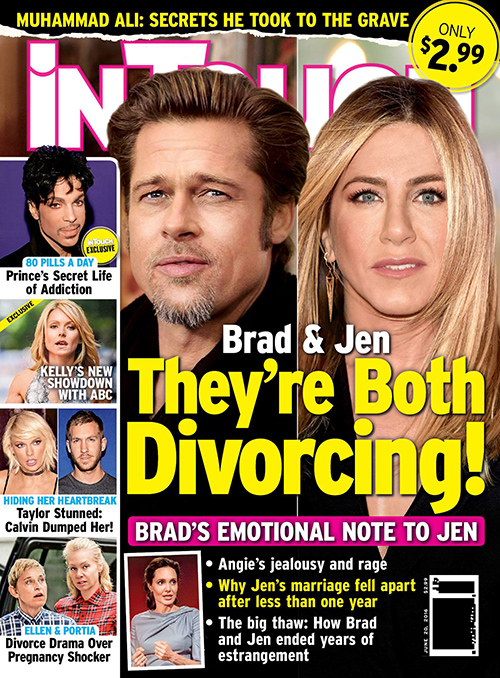 Brad Pitt And Jennifer Aniston To Restart Relationship After Divorcing Spouses Angelina Jolie And Justin Theroux? (PHOTO)