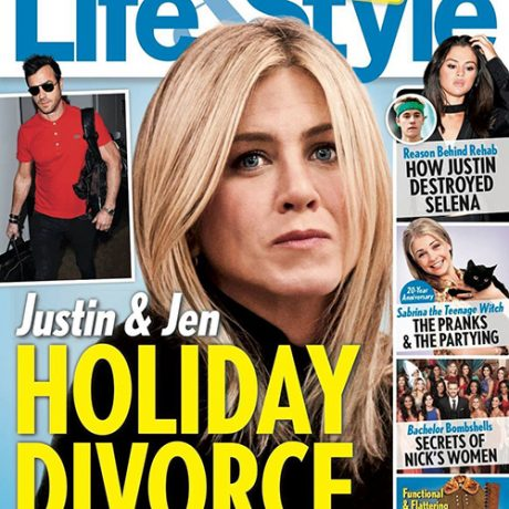 Jennifer Aniston, Justin Theroux Divorce Over Holidays: Marriage Crumbles - Justin Lives Like Bachelor, Jen Suffers At Home!