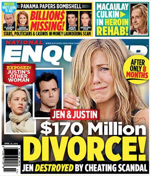 Jennifer Aniston Divorce: Justin Theroux Cheating Scandal Exposed – Jen Suspects Hubby Unfaithful With Pal Heidi Bivens