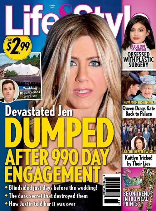 Jennifer Aniston, Justin Theroux Break Up Allegedly: Couple Splits After Dark Secret Destroys Them!