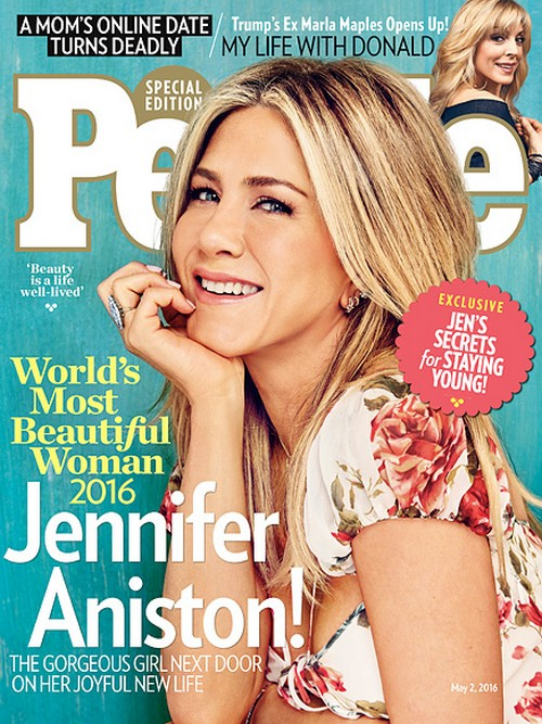 Jennifer Aniston Finally Pregnant or Adopting: People's Most Beautiful Woman 2016 Cover Mother's Day Hint?