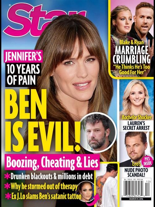 Jennifer Garner Secret Pain: Ben Affleck Cold and Selfish Husband?
