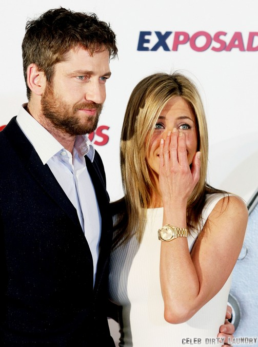 Jennifer Aniston Flirts With Gerard Butler at Soho House: Justin Theroux Calls Off Engagement and Wedding - Report