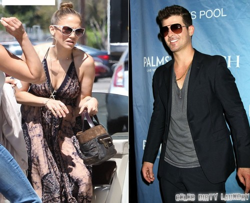 Jennifer Lopez Spotted With Robin Thicke, Are They Hooking Up? - Paula Patton Freaks